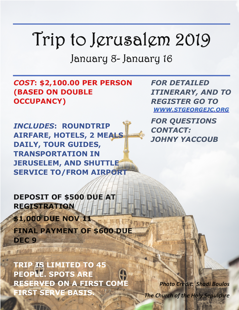 Jerusalem Trip 2019